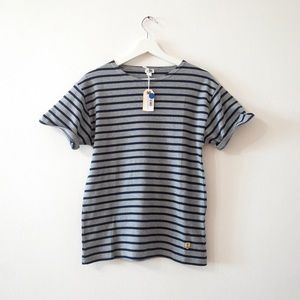 NWT Armor Lux striped t shirt Sz 2 M medium (e6)